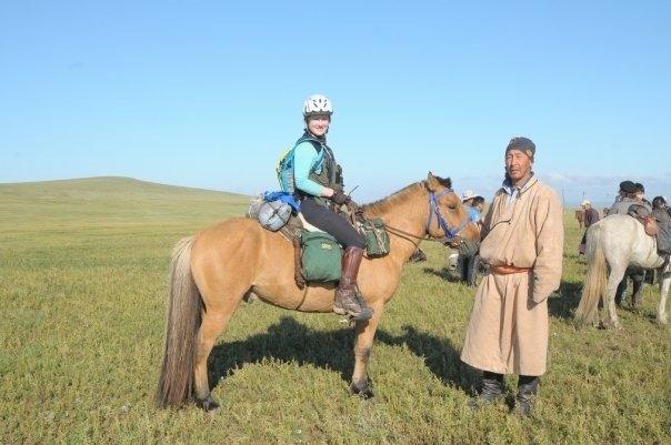 Katy Willings Mongol Derby